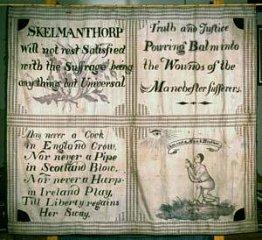 The Skelmanthorpe banner.