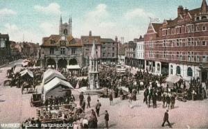 Pre 1939 postcard of Peterborough.