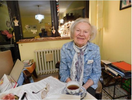 Former political prisoner Hana Truncova.