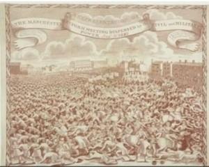 Commemorative Peterloo handkerchief