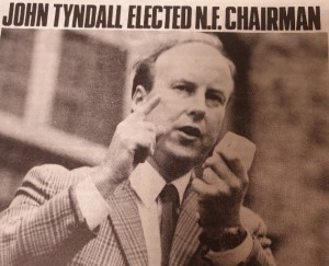 National Front chair John Tyndall