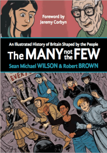 Book cover: The Many not the Few